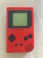 Console Nintendo GAME BOY tm DMG Red Color ROJO ORIGINAL Genuine Nintendo
