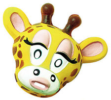 Adulto Máscara de plástico Jirafa Animal Zoo Vestido de fantasía