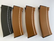 New listing Set If 4 LCT airsoft 5.45 Style 6mm Mid Cap Magazines