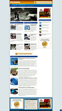 Niche Marketing Blog Website With Affiliates And New Free Domain Hosting