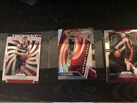 Tyler Herro  2019-20 Prizm Silver 3 Card RC Lot Miami Heat