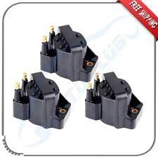 pack of 3 Ignition Coil Cassette Pack for Chevrolet Buick GMC V6 3.8l 3.4l
