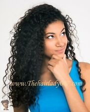 "18"" KINKY CURLY, FULL LACE WIG, READY TO SHIP"