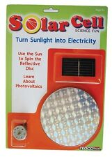 SOLAR SCIENCE KIT #80004  with many project ideas!!  TEDCO SCIENCE TOYS
