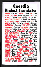 Geordie Newcastle Dialect Tea Towel - Idea Gift - Joke  Secret Santa