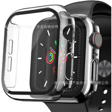 For Apple Watch Series SE 6 5 4 Tempered glass Screen Protector Case Cover 40-44