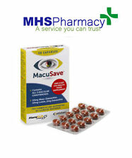 Macusave 30 Cápsulas OJO vitaminas con meso-la zeaxantina, la luteína y la zeaxantina