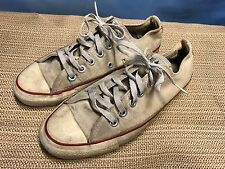 VTG Distressed Grunge Converse All Star Low Top Canvas Tennis Shoes Sz 6 USA