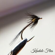 Black Quill Crunchers size 12 (Set of 3) Fly Fishing Flies Trout