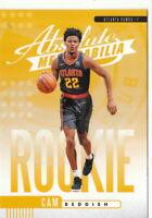19/20 2019/20 Panini Absolute Yellow Rookies #9 Cam Reddish - Atlanta Hawks