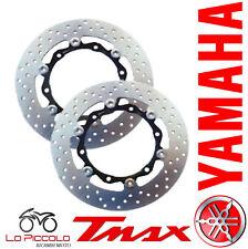 COPPIA DISCHI FRENO ANTERIORE FLOTTANTI YAMAHA T-MAX / ABS 500 2008 2009 2010