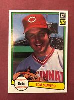 1982 Donruss #148 Tom Seaver Cincinnati Reds HOF ~ Free Shipping