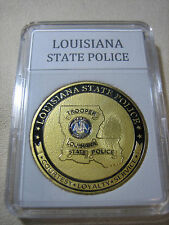 LOUISIANA STATE POLICE Challenge Coin