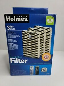 """Holmes Humidifier Filter HWF100 (3 pack) NIB """"E"""" Replacement Humidifier Filters"""
