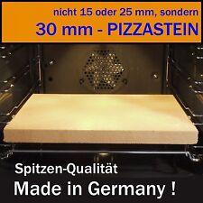 PIZZASTEIN  - ( 30 mm Stein-Dicke ! ) - auch zum BROTBACKEN geeignet