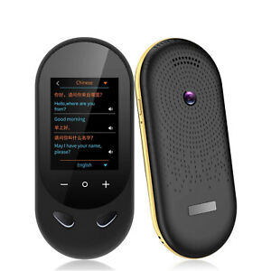 Language Translator Device Support 106 Languages For Traveling Aboard Learning