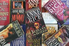 Lot of 5 Anne Rice Gothic Fiction Mass Market Paperback Books MIX