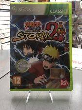 Naruto Shippuden Ultimate Ninja Storm 2 Ita XBox 360 USATO GARANTITO