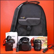 Canon EOS 1200D DSLR Camera + Canon EF-S 18-55mm III Zoom Lens Kit + 1,166 Shots