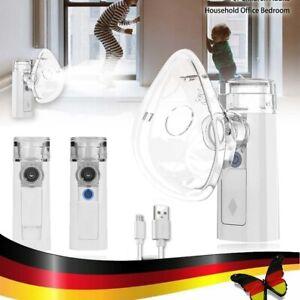 Inhalator Vernebler Nano Inhalationsgerät Inhaliergerät für Erwachsene Kinder
