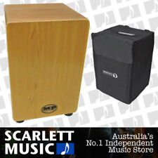 Mano Percussion MP985M Cajon Drum Maple Finish AMS - w/ FREE Gigbag.