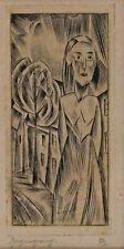 Christian ARNOLD 1889 - 1960 - Spaziergang Frauenportrait