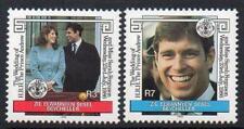 ZIL ELWANNYEN SESEL MNH 1986 SG133-34 Royal Wedding