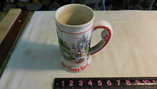 Walt Disney World Stein Mug Cup tankard 3D embossed Castle