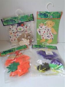 4 Muffy Vanderbear SALAD BALLAD Teddy Bear Outfits Hoppy Vanderhare Clothes