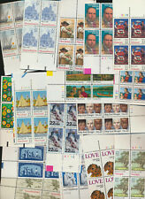 22¢ Mint NH USA Plate # Blocks Collection of 26 Different Over $90 Retail Value