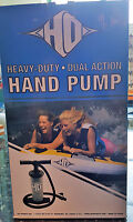 HO SPORTS Dual Action Hand Pump Boat Towables Tubes Fits Small & Large Valves
