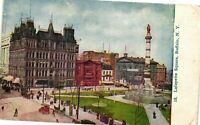 Vintage Postcard - Posted 1910 Lafayette Square Buffalo New York NY #4498