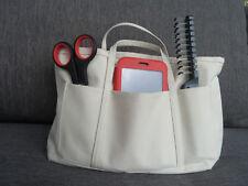 bag organiser insert travel or makeup bag Top quality canvas Fits iPad iPad Pro