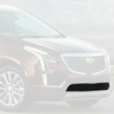 For Cadillac XT5 17-20 1-Pc Classic Series Black Ice Heavy Mesh Bumper Grille