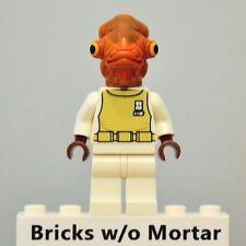 New Genuine LEGO Admiral Ackbar Minifig Star Wars 7754 75003