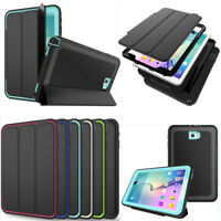 Magnetic Shockproof Smart Cover Soft Silicone Case For Samsung Galaxy Tab A S3 E