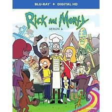 Rick & Morty Season 2 - Blu-ray Region 1