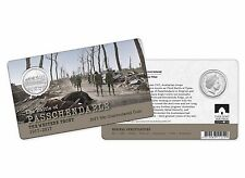 2017 The Battle of Passchendaele - The Western Front 50c Coin