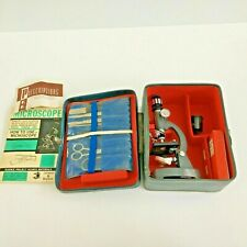 Vintage Sans & Streiffe No. 519 Microscope and Dissecting Kit Manual
