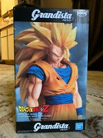 Banpresto Grandista Nero Dragon Ball Z Super Saiyan 3 Son Goku SSJ3 In Stock