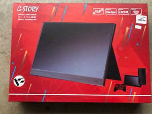 G-STORY 15.6 Inch GS156WT FHD 1080P Portable Gaming Monitor NEW Touchscreen