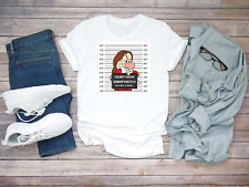 Mugshot Grumpy Dwarf 7 Dwarfs funny Short sleeve Men T Shirt K826