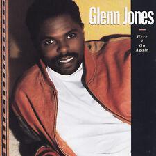 GLENN JONES - CD - HERE I GO AGAIN