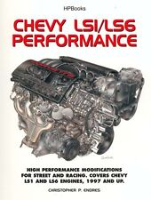 Chevy LS1/LS6 Performance REBUILD SMALL BLOCK ENGINE GM WORKSHOP REPAIR MANUAL