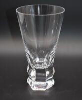 "Moser Czech Cut Crystal Ophelia Lubos Metlak 6 1/8"" Highball Glass"