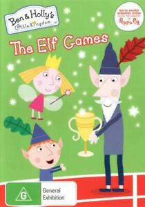 BEN & HOLLY'S LITTLE KINGDOM: THE ELF GAMES (2015) [NEW DVD]