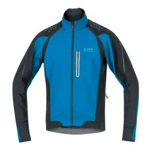 Gore Bike Wear Alp-X 2.0 Zip-Off Jacket Windstopper Soft Shell size L color Blue