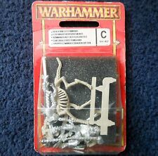 1997 Undead Wight Standard Bearer on Skeleton Steed 1 Warhammer Army Citadel MIB