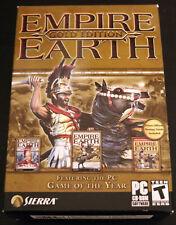 Empire Earth: Gold Edition (PC, 2003)