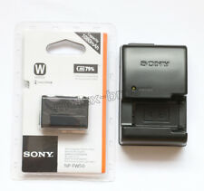 NP-FW50 Battery + BC-VW1 Charger For Sony Alpha NEX-3 3D 3DW 3K 5K 5C 5DB 5HB